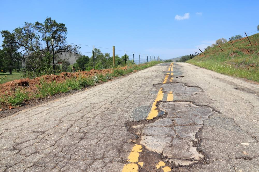 El mal estado de la red de carreteras española provoca accidentes cada año